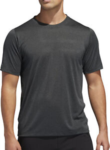 adidas FreeLift Tech ClimaCool Fitted Short Sleeve Mens Training Top - Grey