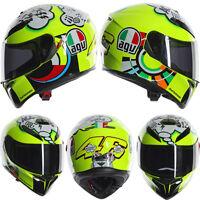 AGV K3 SV Rossi VR46 MotoGP MISANO 2011 Full Face Motorbike Motorcycle Helmet