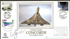 CONCORDE - 2003 Coming Home, Final Flight to Filton Flown, D/C & Sign Bannister