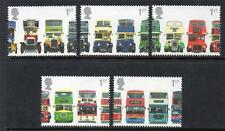 GB MNH 2001 SG2210-2214 150TH ANV OF THE FIRST DOUBLE DECKER BUS SET OF 5