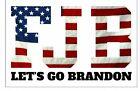 Let's Go Brandon Sticker FJB Racing Anti Joe Biden Window Sticker 5