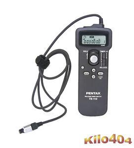 Pentax TS-110 Fernbedienung für MZ-S * Wie NEU * Release Timer * Zeitschaltuhr *