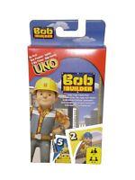 Mattel Spiele UNO Bob der Baumeister Kartenspiel Junior extra große Karten Neu