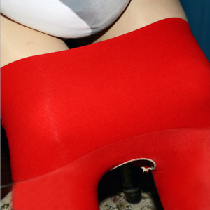 360° Seamless 8D Plus Size Oil Shiny High Glossy Pantyhose Sheer Stocking Tights