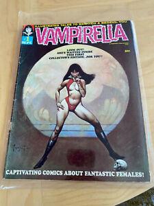 Vampirella Comic Book Issue #1 Published 1969 good condition