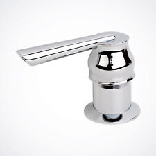 NEW Chrome Contemporary Soap Dispenser for Kitchen Faucet Sink Lotion Hand Pump