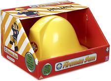 Fireman Sam Helmet Toy Kids Toys avec Microphone jaune Pompiers chapeau jeu de rôle