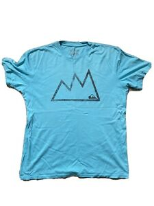 Quiksilver t shirt extra large - blue