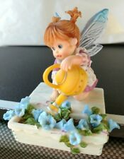 "My Little Kitchen Fairies ""Flower Box Fairie"" 2008 Enesco ~Hard To Find~"