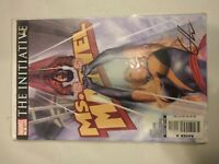 Comic Rare Book Ms Captain Marvel Signed by Greg Horn With COA  Woman #16