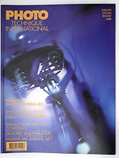 (PRL) PHOTO TECHNIQUE INTERNATIONAL 2/96 1996 SEKONIC MULTIMASTER MAMIYA 645 SLR