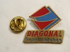 PIN'S DIAGONAL SUPERMARCHE