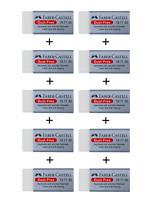 Faber-Castell Radiergummi Qualitätsradierer DUST-FREE Set 1er 3er 6er 10er OVP