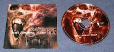 2000 METAL ~ CORPORATION 187 ~ Subliminal Fear ~ RARE PROMO ~ PROMOTIONAL CD
