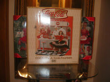 COCA COLA KEN JERK SODA FOUNTAIN NRFB MADE FOR BARBIES & KEN (2 barb included)