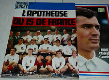 MIROIR RUGBY N°80 1968 PHOTO CAMPAES XV FRANCE TOURNOI V NATIONS GRAND CHELEM