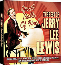 JERRY LEE LEWIS THE BEST OF NEW CD * Card Slipcase * GREATEST HITS ORIGINALS