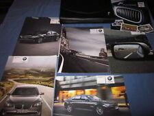 2011 BMW 740i 740 750 760 Li X DRIVE OWNERS MANUAL SET