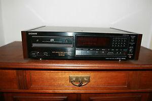 SONY CDP 557 ESD * Emotionaler kann ein CD Spieler nicht sein * - 18 KG Bolide !
