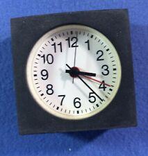 """Rhythm Watch Co.   ALARM CLOCK - modern stylish - 2 3/4"""" across"""