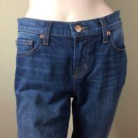 J BRAND Damen Jeans 28 36 Hose Blau Skinny Leg Denim Pants Made in California