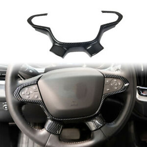 Carbon Fiber Outlook Steering Wheel Cover Trim for Chevrolet Traverse 2018-2021