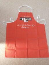 Yorkshire tea red apron 100% cotton