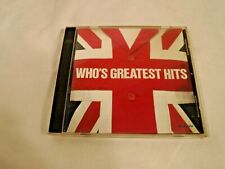 """"""" The Who's Greatest Hits"""" The Who"""