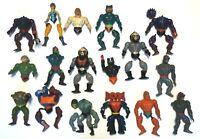 Masters of the Universe Action Figures Skeletor Mer-Man Evil-Lyn Hordak