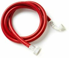 Washing Machine Dishwasher Red Hot Water Inlet Fill Hose 2.5m 2500mm 3/4""
