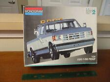 Vintage Monogram, 1/24 Scale, Ford 250 Pick Up Truck, Model Kit