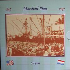 Nederland 10 Gulden 1997 FDC in KNM Blister ( Marshall Plan )