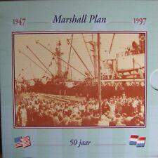 Nederland 10 Gulden 1997 FDC in KNM Blister ( Marshall Plan )