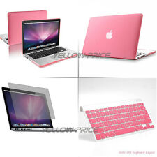 3 in 1 Macbook Pro w/Retina 13 13.3'' Ruberized Hard Case Screen Keyboard Cover