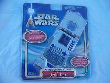 "TIGER STAR WARS JEDI DEX ""Attack of The Clones"" HANDHELD GAME 2002 New! HASBRO"