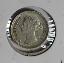 Hong Kong 1891 5 Cents silver  H0166 combine shipping