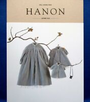HANON Doll Sewing Book w/English /Japanese Doll Clothes Pattern Book  Brand New!