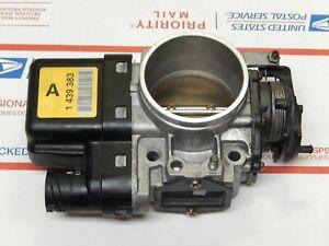 98-01 BMW e39 e46 323i 328i 528i Z3 Throttle Body 1 439 383 Yellow Label