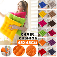 45*45cm Polyester Chair Cushion Square Soft Padded Cushion Pad Home Office Decor