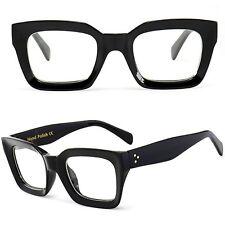 Black Thick Square Frame Geek Fashion High Quality Glasses