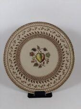 Staffordshire Old Granite Johnson Bro. Fruit Sampler Plate Made in England 6 in.