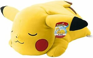 Pokemon 18 Inch Plush - Sleeping Pikachu