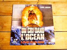 UN CRI DANS L'OCEAN LASERDISC PAL LD ORIGINAL 1998