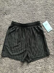 M&S Boys Black School Football Shorts Regular Fit Age 5-6 Years