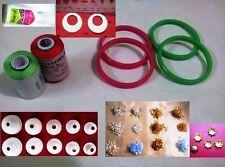 19pcs Silk thread Jewelry making Beginners Kit