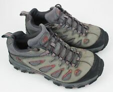 Men's Merrell Hicking Shoes Gray Size 7 Athletic Trail Shoes Well Used
