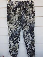 MELA PURDI Silk Pants Size 12 Medium With Zip Pockets Very Good Condition