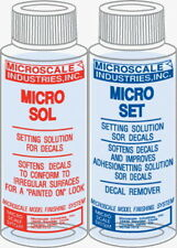 MICROSCALE MICRO SET & SOL DECAL SETTING SOLUTION SET MS01/MS02