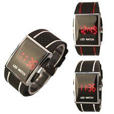 High End Sport LED Digitalanzeigen-Armbanduhr-Silikon-Band für Frauen Männer