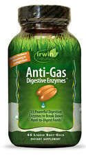 Irwin Naturals - Anti-Gas Digestive Enzymes - 45 Softgels